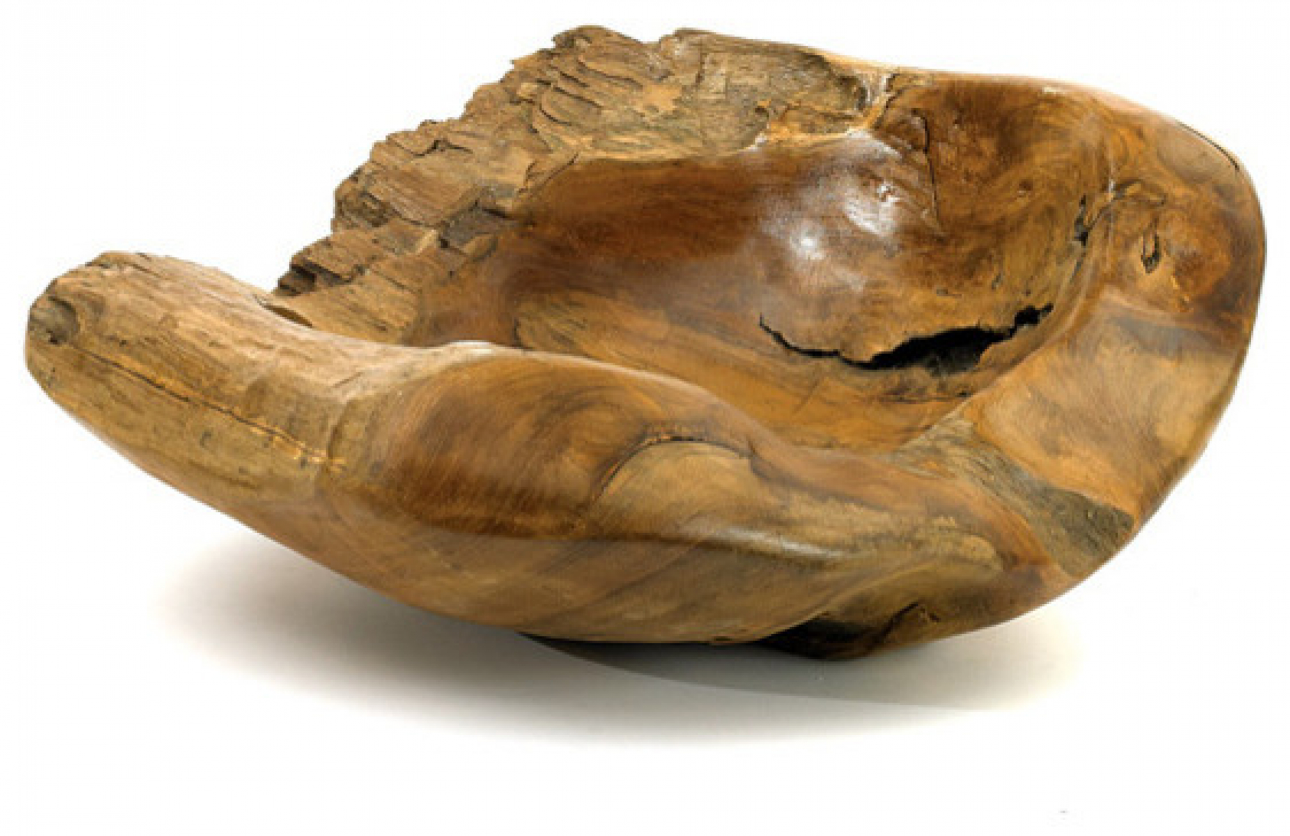 Centro de mesa madeira teka G