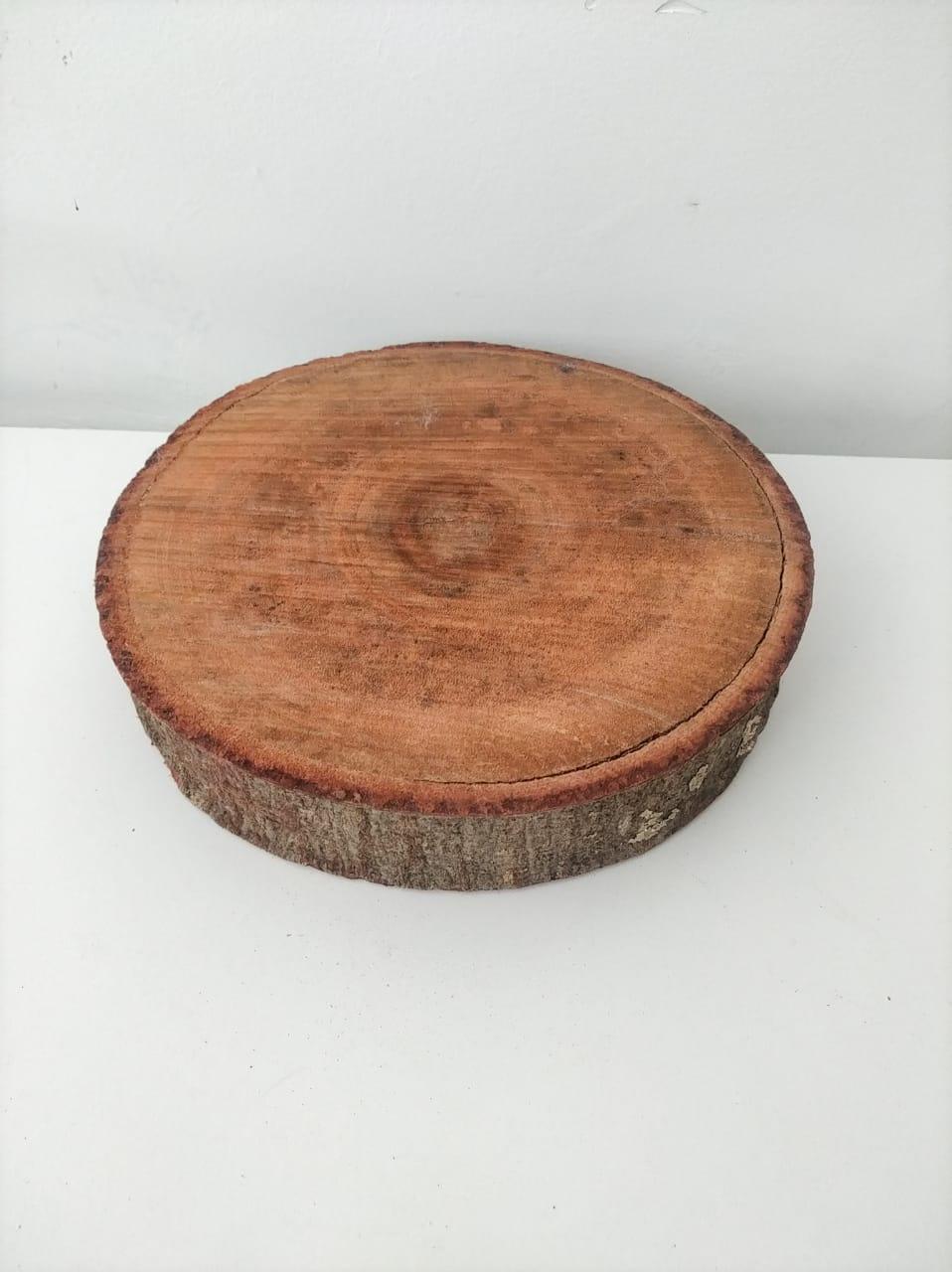 Tora de madeira vermelha P
